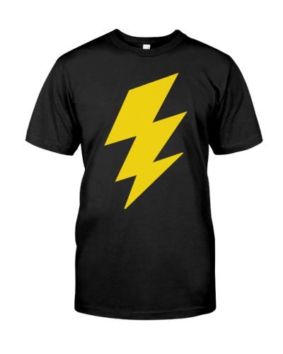 The Rock as Black Adam shirt