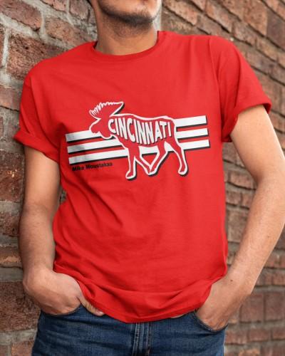 Mike Moustakas Moose Cincinnati Shirt Jersey