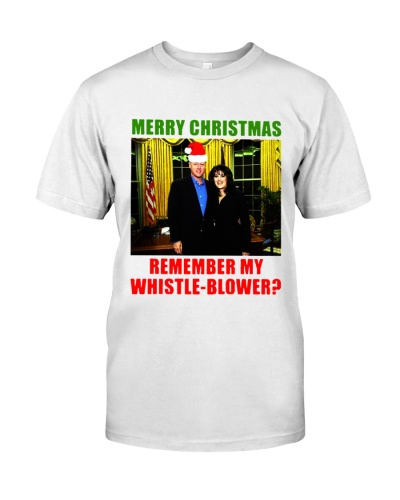 Merry Christmas remember my whistle-blower shirt