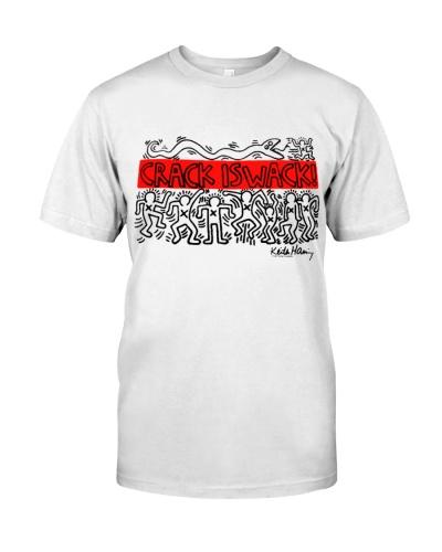 Junk Food Keith Haring Crack is Wack Shirt