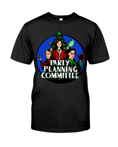 Party Planning Committee Christmas shirt Funny
