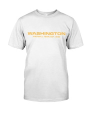 washington football team hat Classic T-Shirt thumbnail