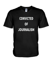 Convicted Of Journalism T Shirt V-Neck T-Shirt thumbnail