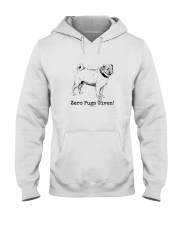Zero Pugs Given Hooded Sweatshirt thumbnail