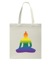 Rainbow Buddha Tote Bag tile