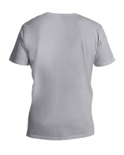 Rainbow Buddha V-Neck T-Shirt back