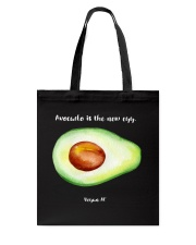 Avocado is the new egg Tote Bag tile