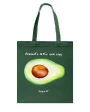 Avocado is the new egg Tote Bag front