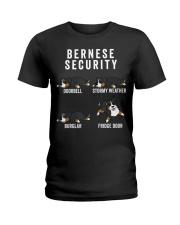 Bernese Mountain Dog Security Funny Dog Ladies T-Shirt thumbnail