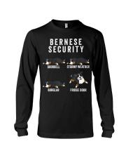 Bernese Mountain Dog Security Funny Dog Long Sleeve Tee thumbnail