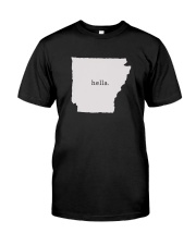 shark tank arkansas hella white Premium Fit Mens Tee thumbnail
