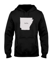shark tank arkansas hella white Hooded Sweatshirt thumbnail