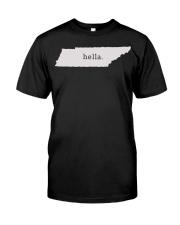 shark tank tennessee hella white Classic T-Shirt thumbnail