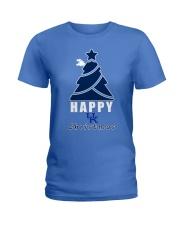 HAPPY CHRISTMAS Ladies T-Shirt thumbnail