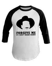 Forgive Me Baseball Tee tile