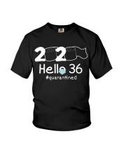 Hello 36 Quarantine Youth T-Shirt thumbnail