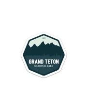 Grand Teton Sticker - Single (Vertical) front