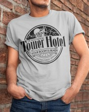 Tower Hotel Classic T-Shirt apparel-classic-tshirt-lifestyle-26