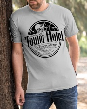 Tower Hotel Classic T-Shirt apparel-classic-tshirt-lifestyle-front-51