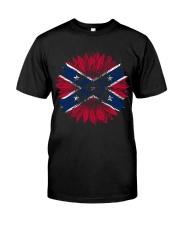 Confederate Battle Flag Classic T-Shirt front