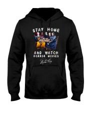 Stay Home - Watch Horror Movies Hooded Sweatshirt thumbnail
