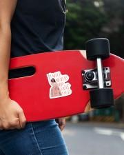 The Satis Fied Sticker Sticker - Single (Vertical) aos-sticker-single-vertical-lifestyle-front-21