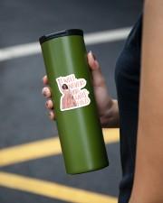The Satis Fied Sticker Sticker - Single (Vertical) aos-sticker-single-vertical-lifestyle-front-38