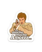 Mucho  Sticker - Single (Vertical) front