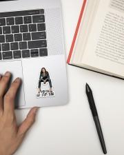 Latin Great Woman Sticker 1 Sticker - Single (Vertical) aos-sticker-single-vertical-lifestyle-front-12