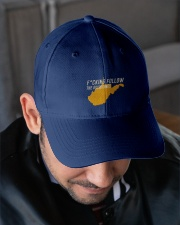 Follow The Guidelines Hat Embroidered Hat garment-embroidery-hat-lifestyle-02