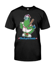 Wash Your Hands Chicken Classic T-Shirt front