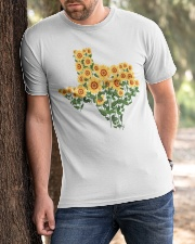 Texas Sunflower Classic T-Shirt apparel-classic-tshirt-lifestyle-front-51