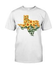 Texas Sunflower Classic T-Shirt front