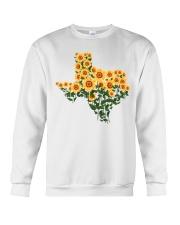 Texas Sunflower Crewneck Sweatshirt tile