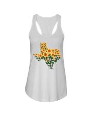 Texas Sunflower Ladies Flowy Tank tile