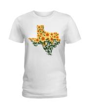 Texas Sunflower Ladies T-Shirt tile