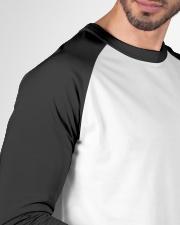 Obstinate Headstrong Girls Baseball Tee garment-baseball-tee-detail-front-sleeve-01