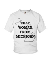 That Woman From Michigan Youth T-Shirt thumbnail