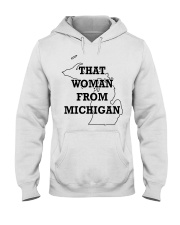 That Woman From Michigan Hooded Sweatshirt thumbnail