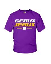 Geaux Jeaux 9 Youth T-Shirt thumbnail