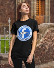 Facebook Prison Inmate Classic T-Shirt apparel-classic-tshirt-lifestyle-06