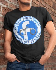 Facebook Prison Inmate Classic T-Shirt apparel-classic-tshirt-lifestyle-26