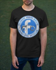Facebook Prison Inmate Classic T-Shirt apparel-classic-tshirt-lifestyle-front-42