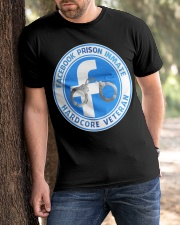 Facebook Prison Inmate Classic T-Shirt apparel-classic-tshirt-lifestyle-front-51