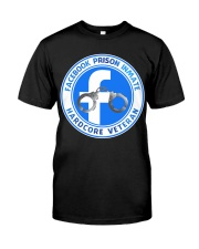 Facebook Prison Inmate Classic T-Shirt front