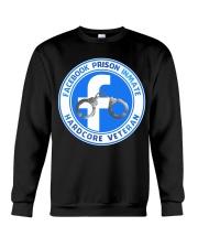 Facebook Prison Inmate Crewneck Sweatshirt tile