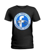 Facebook Prison Inmate Ladies T-Shirt tile