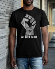 Say Their Names Matter Classic T-Shirt apparel-classic-tshirt-lifestyle-front-40