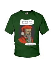 Calvinist Santa Youth T-Shirt thumbnail