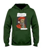 Calvinist Santa Hooded Sweatshirt thumbnail